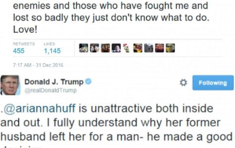 A few of Donald Trumps tweets showcasing his opinions.