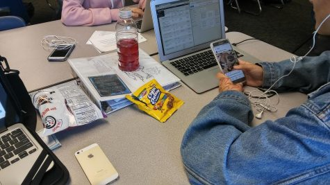 Are cell phones distracting MCHS students?