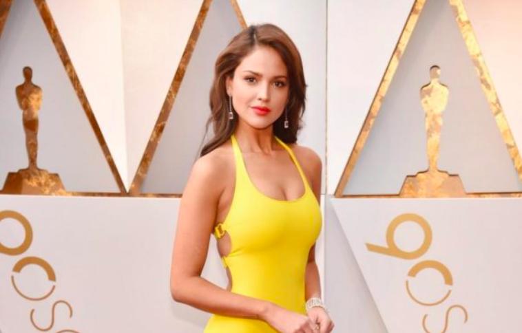 Eiza Gonzalez at the 2018 Oscars.