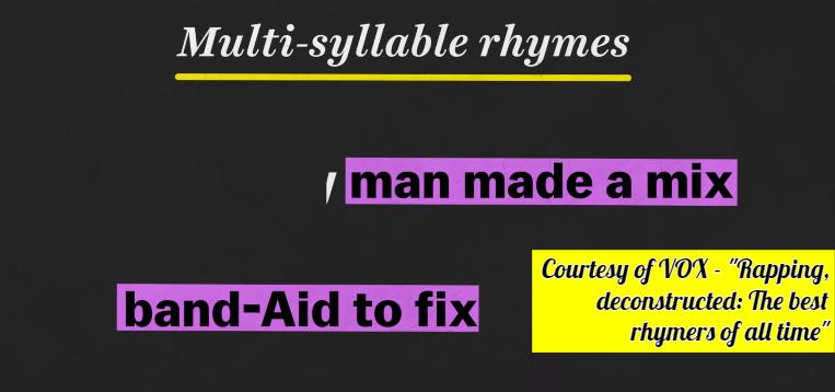 Multi-Syllable+Rhymes