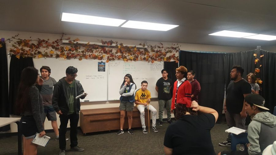 Advanced Drama prepares for their biggest Production yet