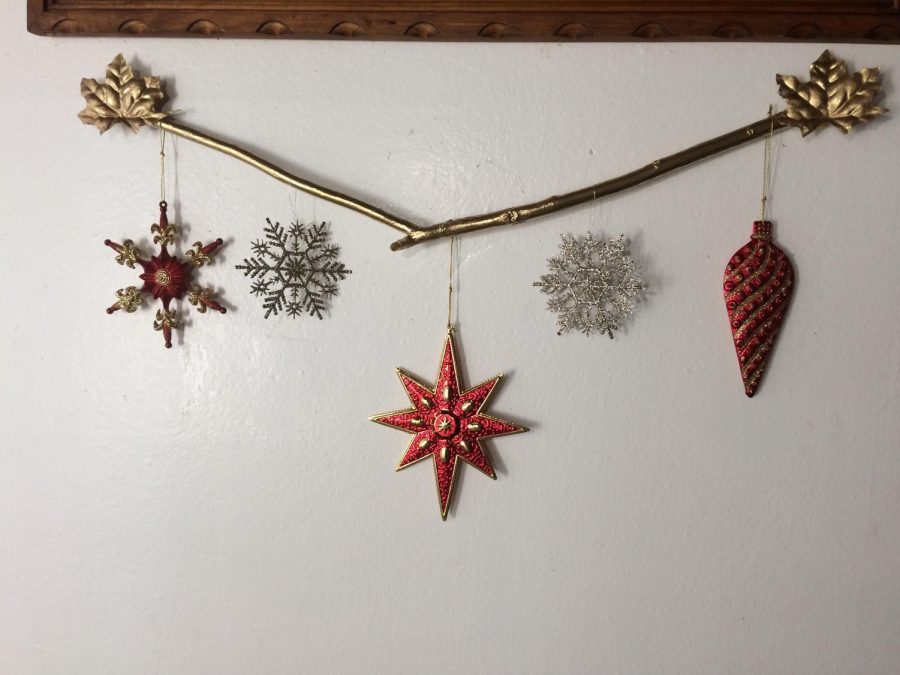 Create multiple branches to place on empty space in your home this season