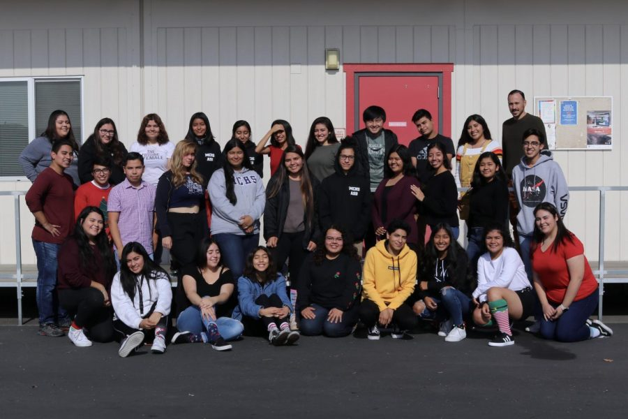 A+group+photograph+of+Middle+College+High+School%27s+ASB+class+of+2019.+