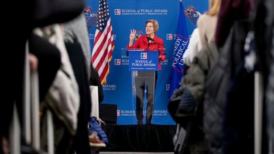 Democratic Presidential candidate Elizabeth Warren announces her campaign amid her Native American genealogy scandal.