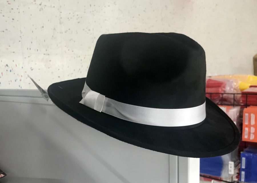 Photo of a fedora similar to one worn by Micheal Jackson