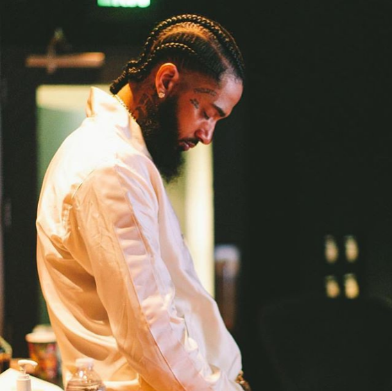 Photograph of Nipsey Hussle