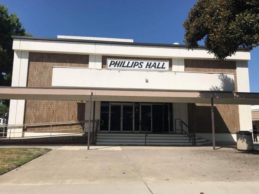 Philips Hall @Santa Ana College.