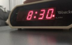 Snooze the alarm for another half hour, students