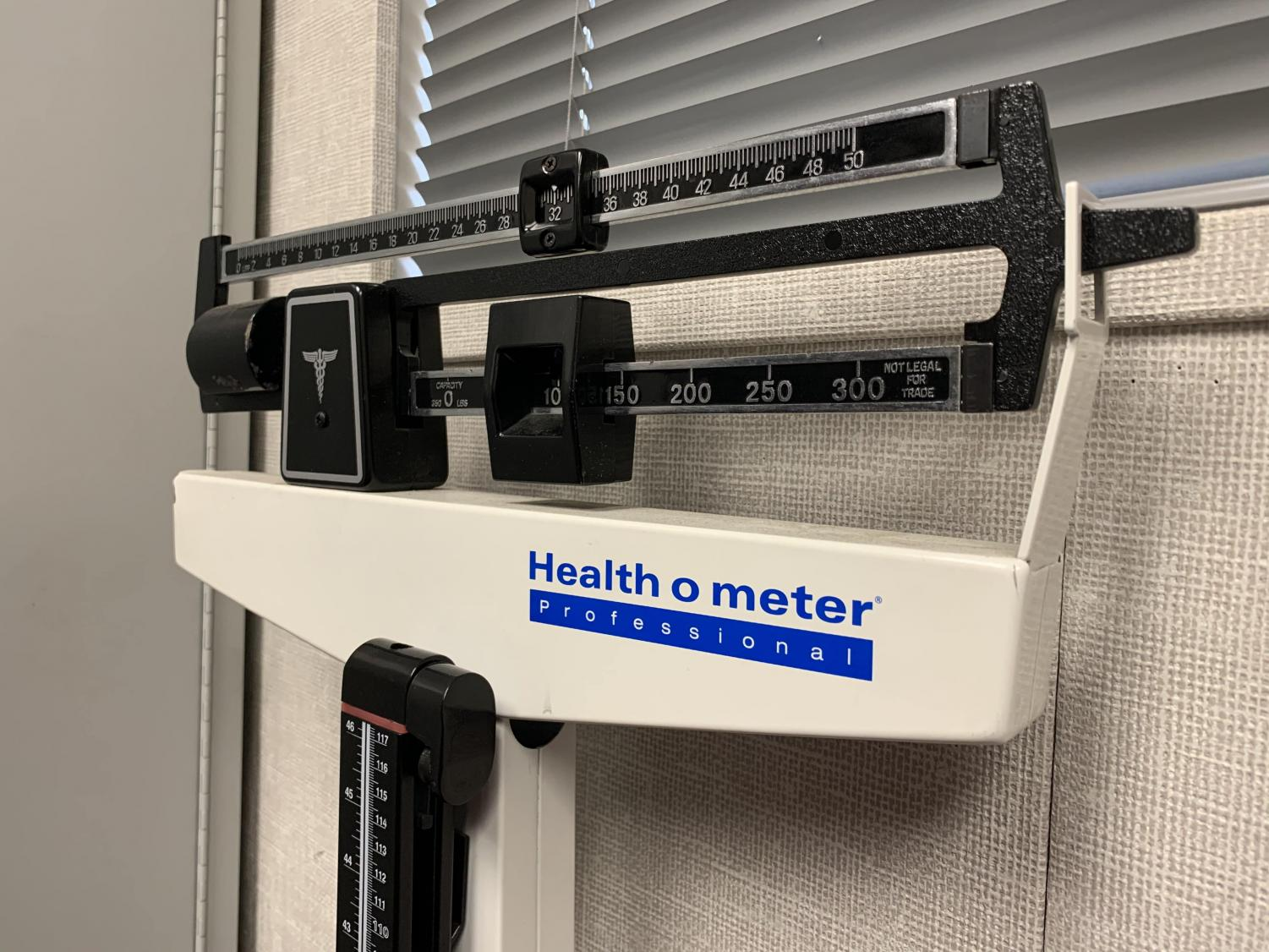 People with eating disorders may think the scale determines their worth.