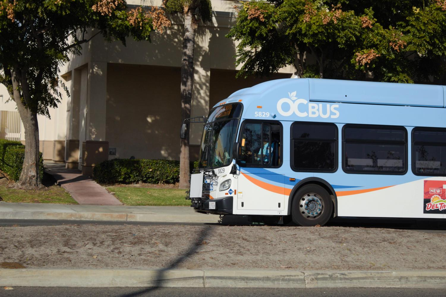 OCTA bus arrives late to its destination by seven minutes. How would that have affected students trying to get to school on time?