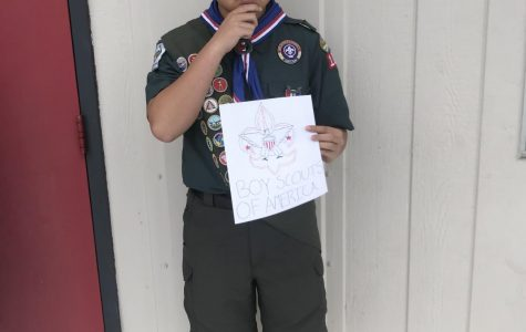 Senior Dylan Mai wonders what the future awaits for the Boy Scouts.