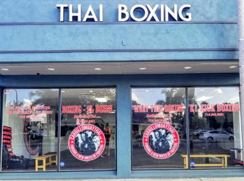The front of the friendly environment Carrillo Muay Thai.