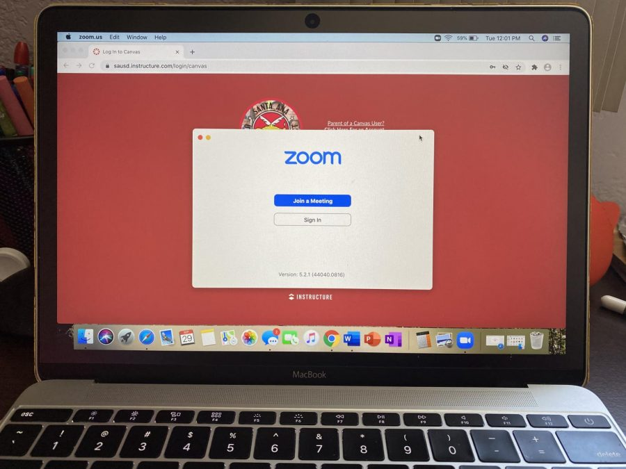 MCHS students primarily use Zoom and Canvas to attend class.