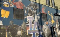 L.A. honors its athletes with murals around the city.