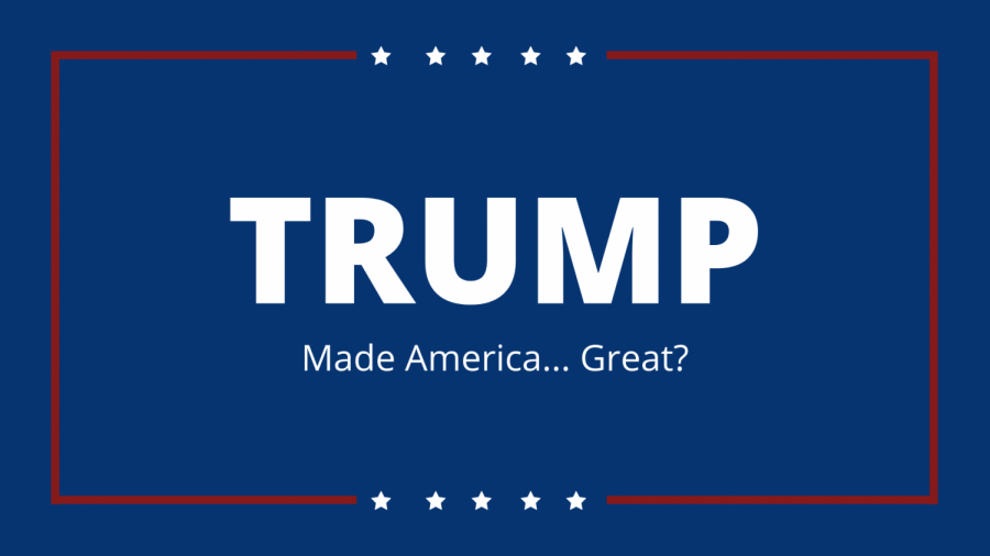 Trump's slogan is a way to reflect on his presidency.