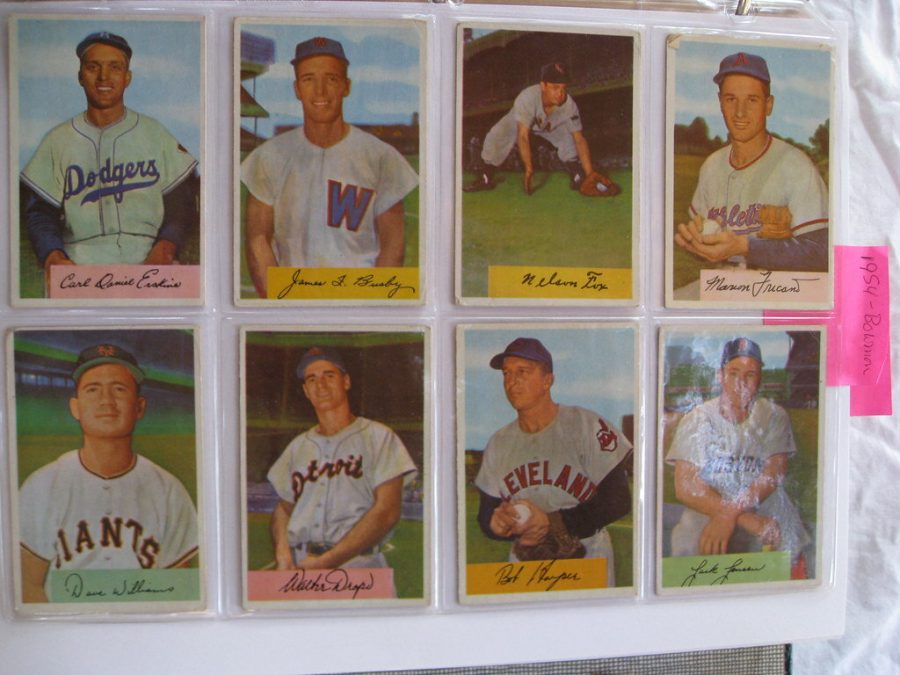 25,000 baseball cards like these were donated to kids through the Cal Fire baseball card drive.