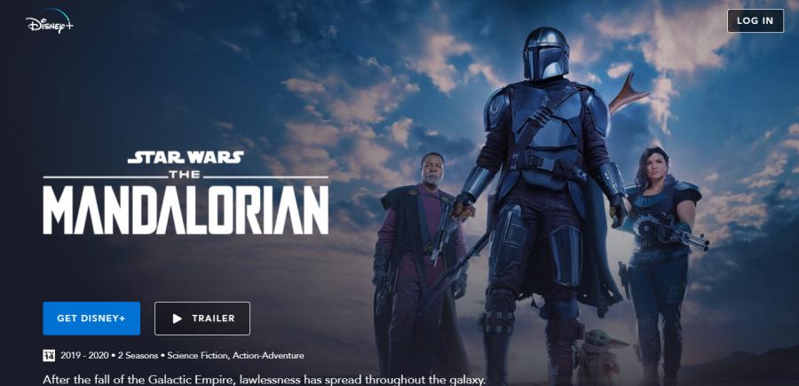 The Mandalorian streams on Disney+ across all platforms.