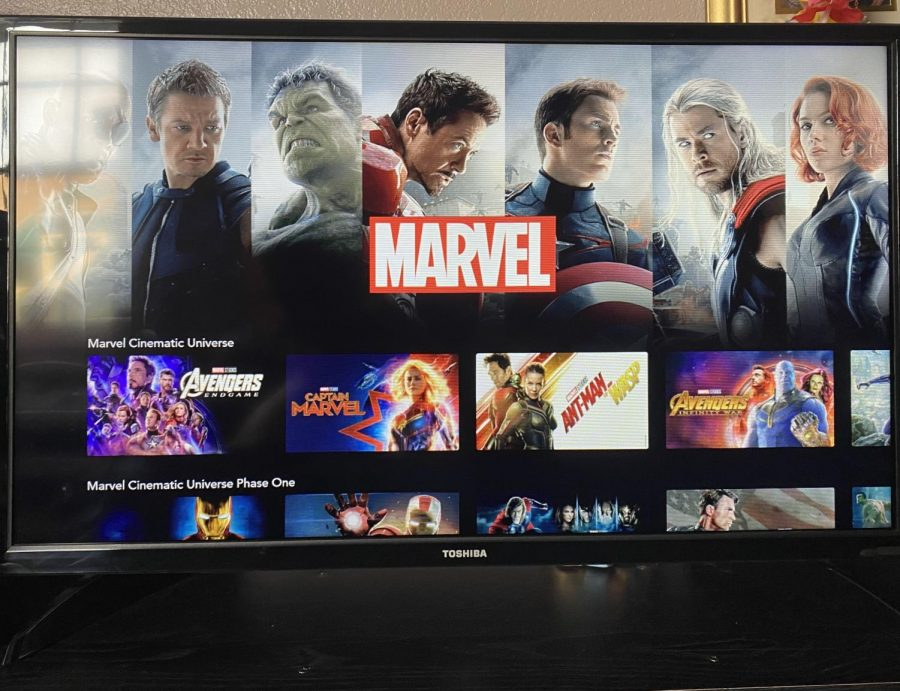 WandaVision will be streaming in Disney+s Marvel section.