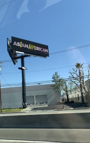 Billboards are placed throughout LA to promote awareness on Asian hate.