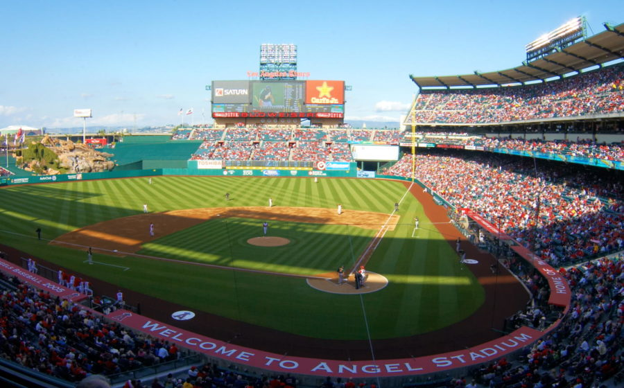 The Angel Stadium, where the graduating ceremony of class of 2021 will be held.