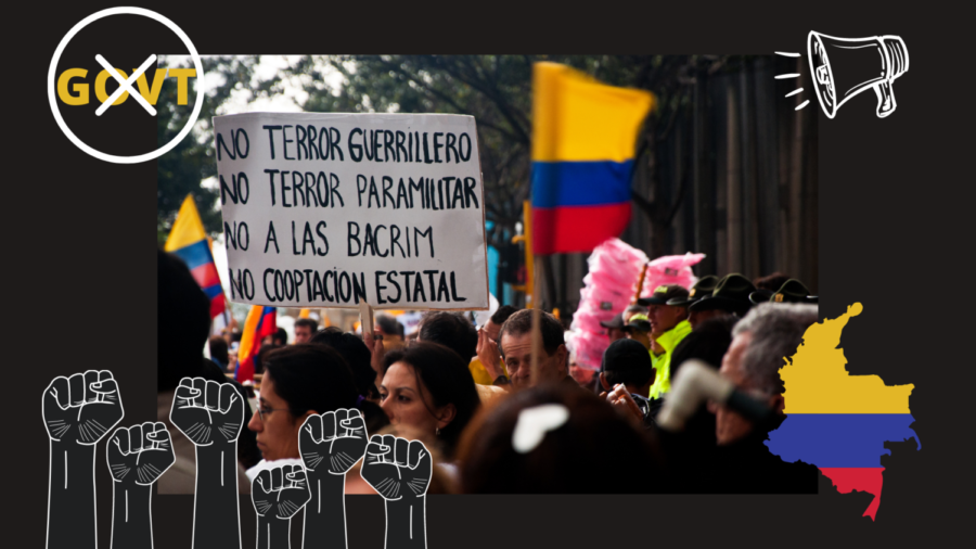 The people of Colombia have lost trust in their government and have taken their concerns to the streets.