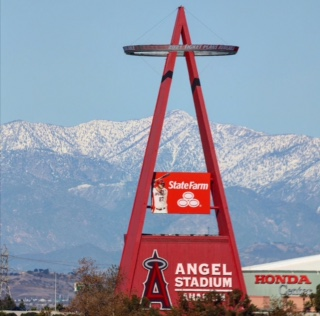 The Angel Stadium, where the graduation ceremony for the class of 2021 will take place.