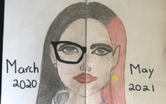Self-portrait by Valerie Chavez
