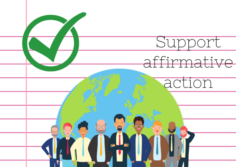 Affirmative action still has work to do